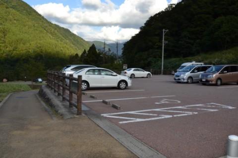 展望広場駐車場の様子
