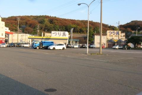 寺泊港駐車場