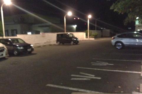 かつはな亭 駐車場