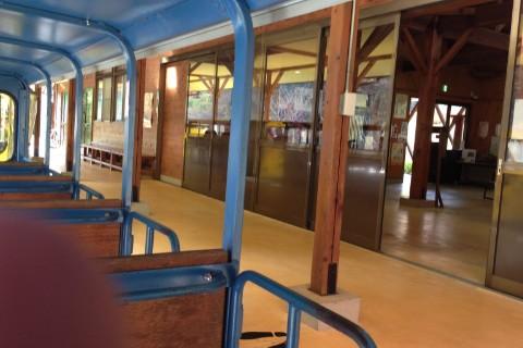 トロッコ電車の駅