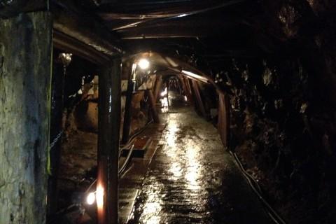 坑道の様子