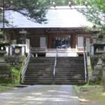 三夜沢赤城神社に行ったよ