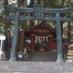 日光二荒山神社中宮祠に行った