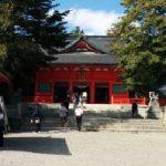 赤城神社(大沼湖畔大洞赤城神社)に行った