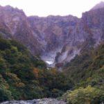 谷川岳一ノ倉沢へバスで行った