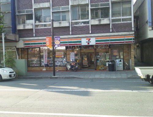 旧本町通りのセブンイレブン