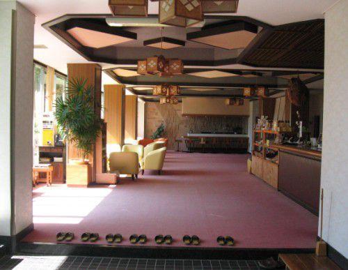 赤城温泉ホテルのロビーの様子