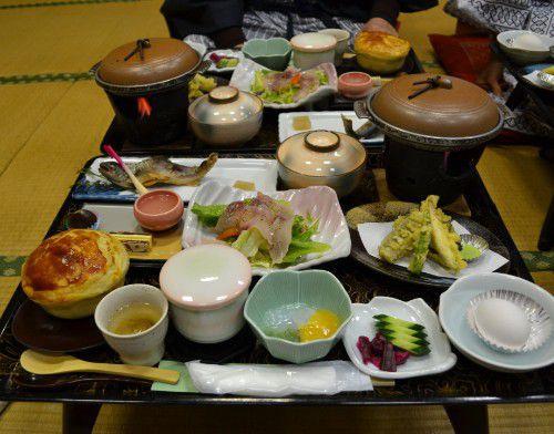 赤城温泉ホテルの食事