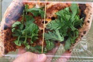 100円のピザ