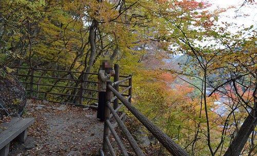 第二観瀑台の様子