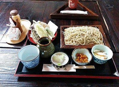 天ぷらつき十割そばセット