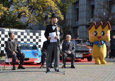 前原勝良さんの開会の挨拶