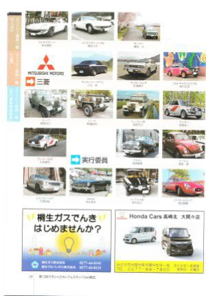 マツダ、三菱のクラシックカー展示車両一覧