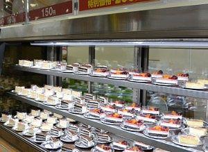 数々のケーキ
