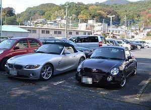 BMWZ4とコペン