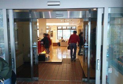 餃子の満洲東明館入口