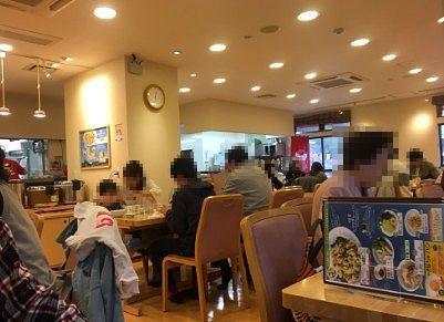 食堂の様子