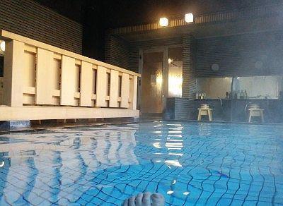 無色透明の温泉