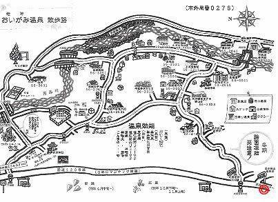 老神温泉MAP