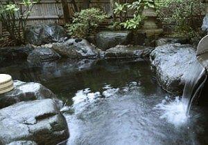 ニュー牧水苑露天風呂