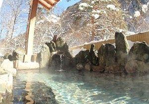 山楽荘露天風呂