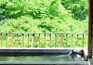 ホテル山口屋露天風呂