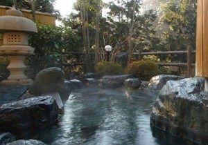東秀館露天風呂