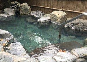 ぎょうざの満州東明館露天風呂