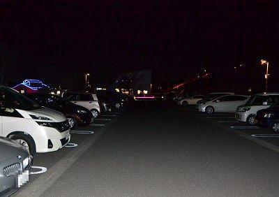 中央駐車場の様子