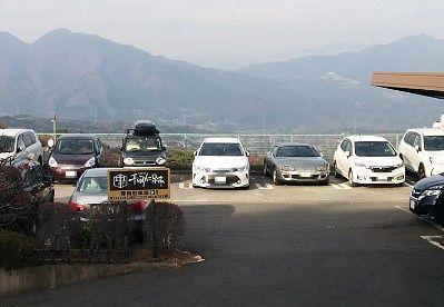 第1駐車場の様子