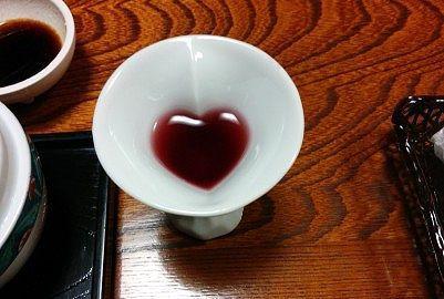 赤ワインの食前酒