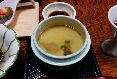 松茸と銀杏の茶碗蒸し