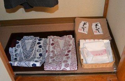 浴衣や茶羽織、タオルなど
