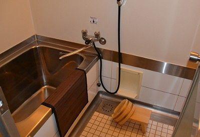 客室風呂の様子