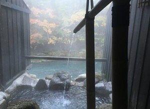 貸切風呂木曽の湯の様子1