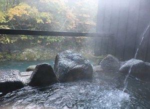 貸切風呂木曽の湯の様子2