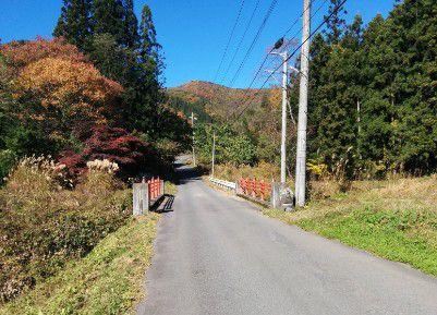 迦葉山へ向かう道