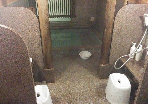 男湯の浴場の様子
