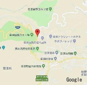 天狗山レストハウス前交差点地図