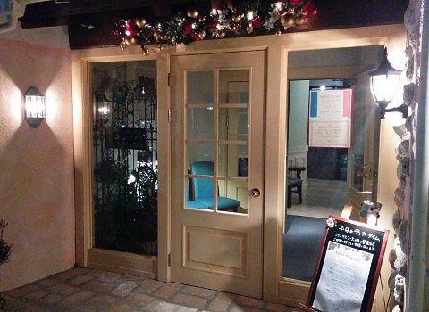 クリスマスのラポルト入口