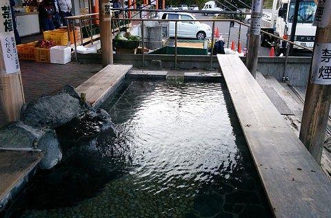 道の駅湯西川の足湯