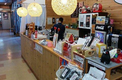 軽食喫茶コーナーの様子