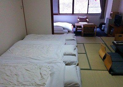 和室12畳の部屋の様子