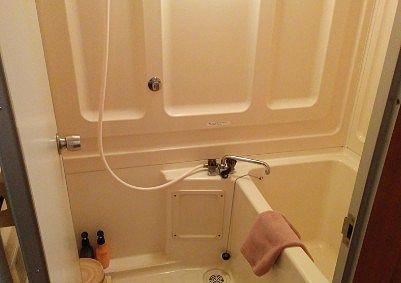 部屋風呂の様子
