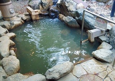露天風呂の様子