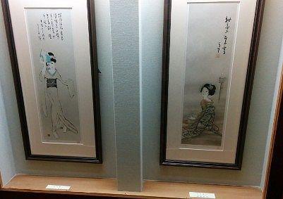竹久夢二の絵画