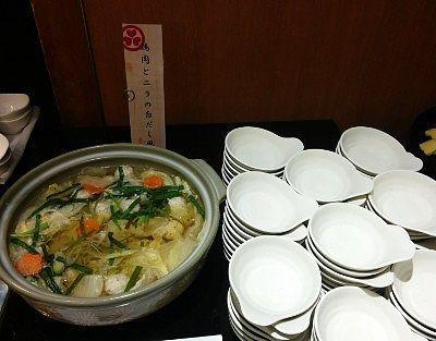 鳥肉とニラの白ダシ鍋