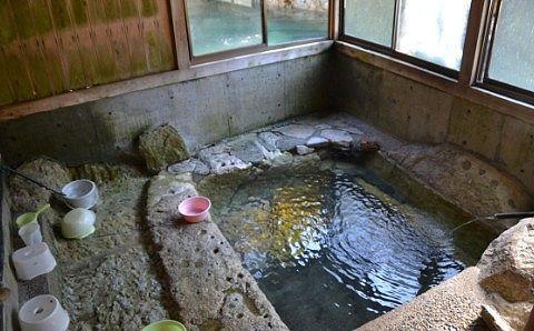 薬師の湯の湯舟の様子