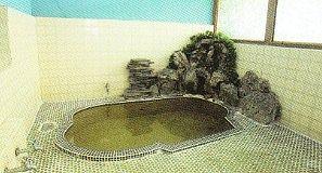 湯元薮塚館の温泉浴場