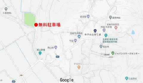 薮塚温泉地図